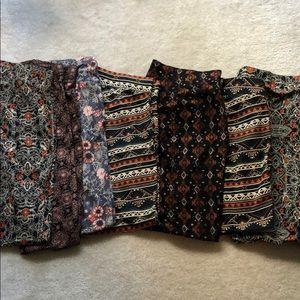 Wholesale bundle of 7 Torrid leggings NEW